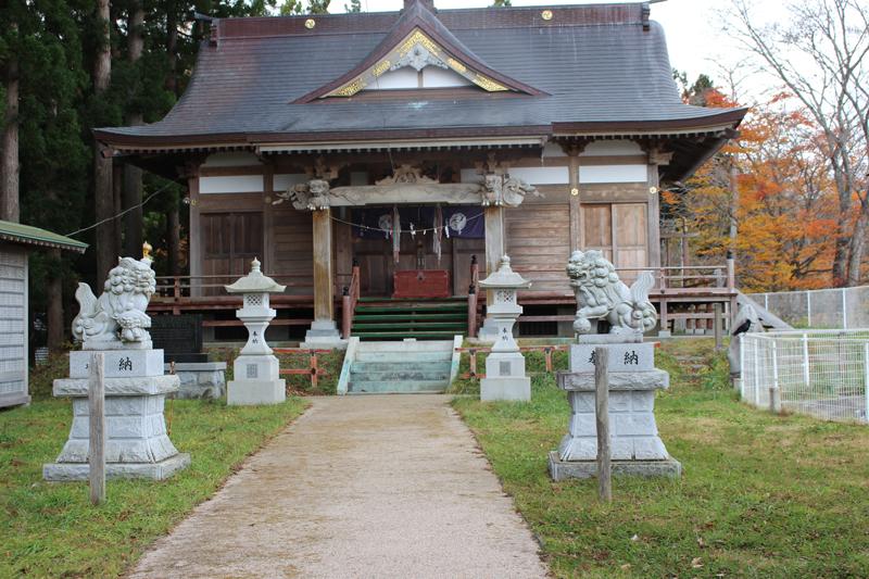 愛宕神社本堂