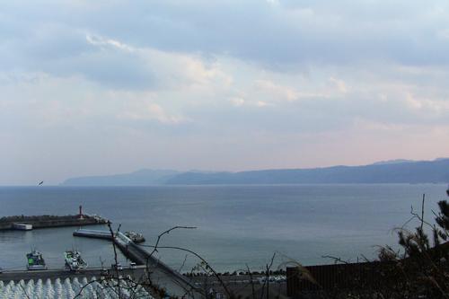 高台から野田港(500)