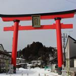 雪の野田村